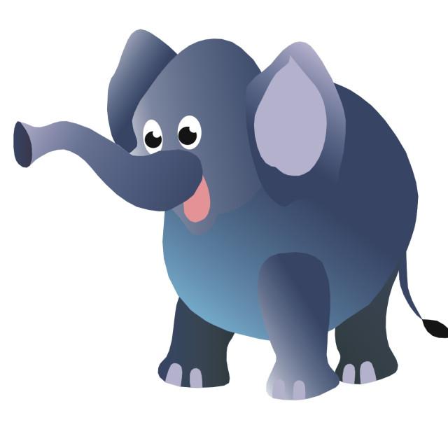 """Elephant Koolamooloo"" stock image"