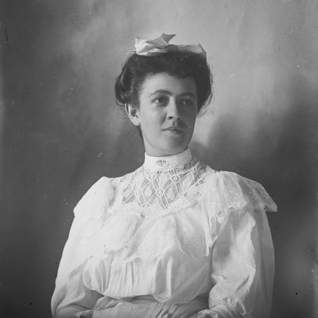 """""""VINTAGE PORTRAIT OF A WOMAN"""" stock image"""