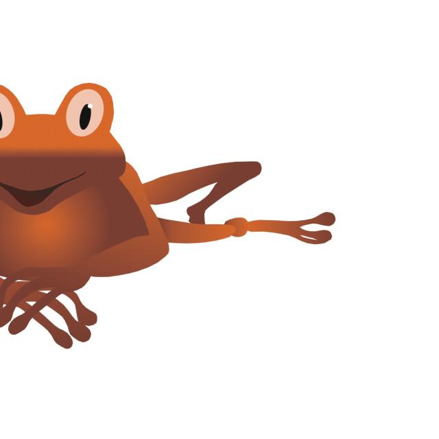 """""""Frog Koolamooloo"""" stock image"""