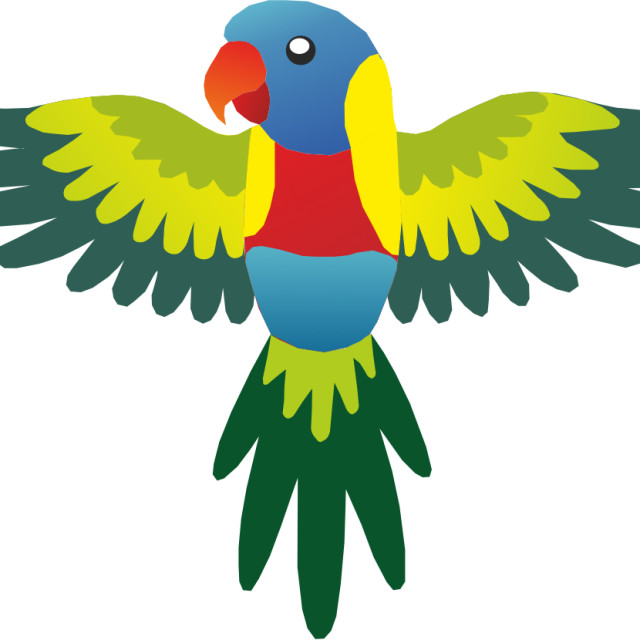 """Parrot Koolamooloo"" stock image"