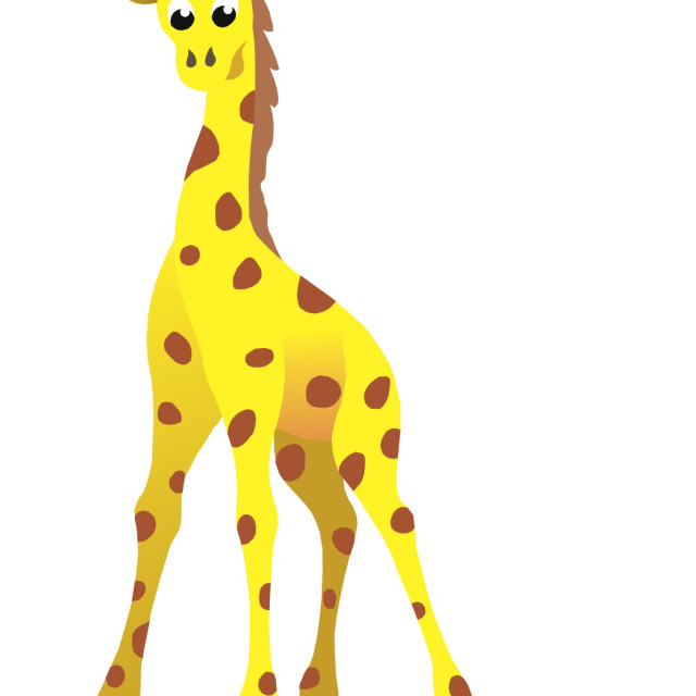 """Giraffe Koolamooloo"" stock image"