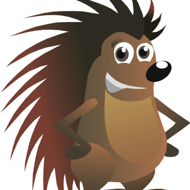 """Porcupine Koolamooloo"" stock image"