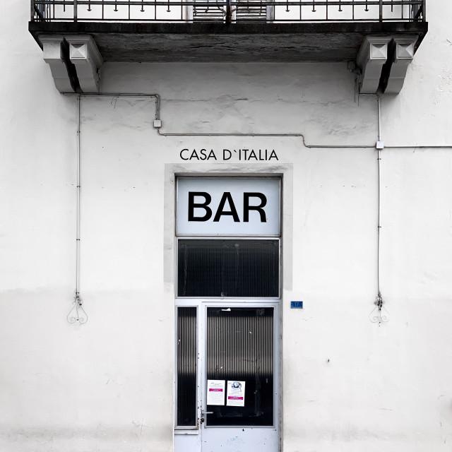 """Casa d'Italia"" stock image"