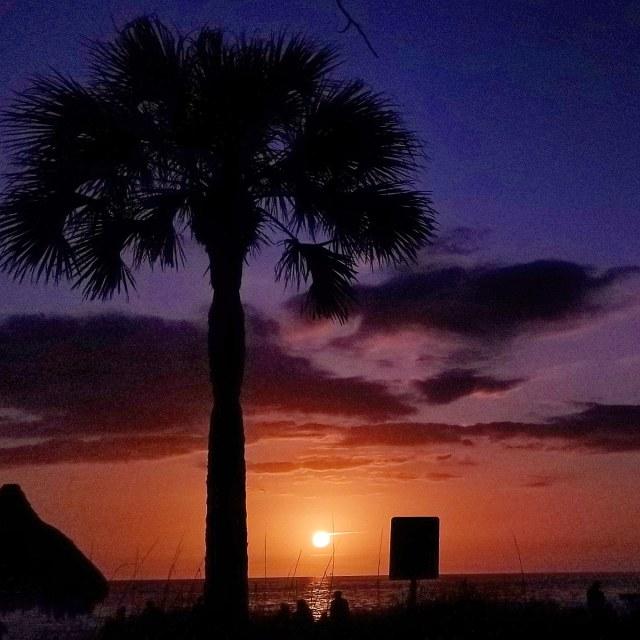 """Stunning sunset"" stock image"