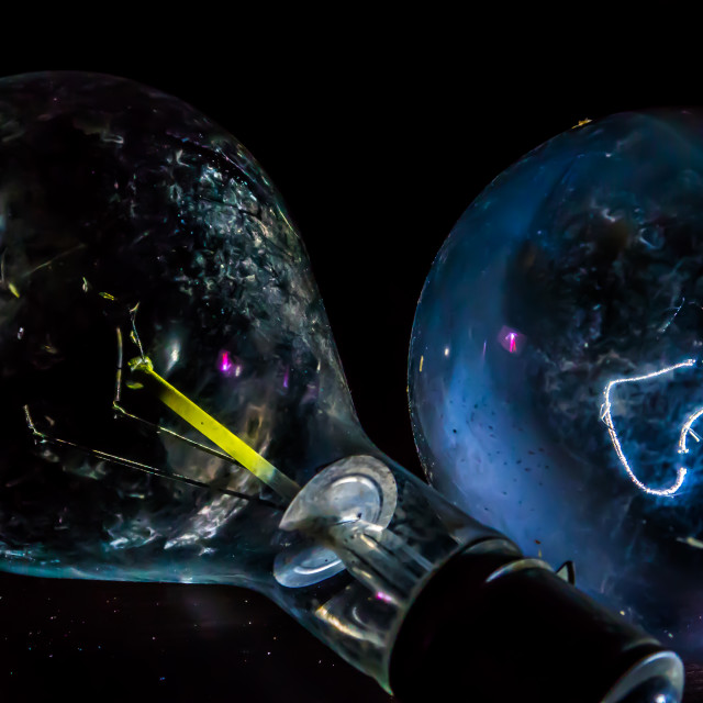 """""""Light Bulb Universe"""" stock image"""