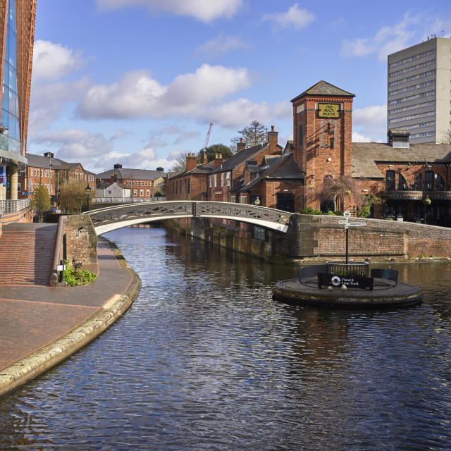 """""""Old Turn Junction in the heart of Birmingham"""" stock image"""