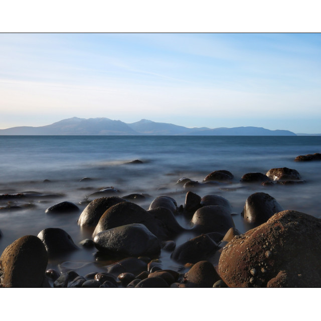 """Arran South Ayrshire"" stock image"