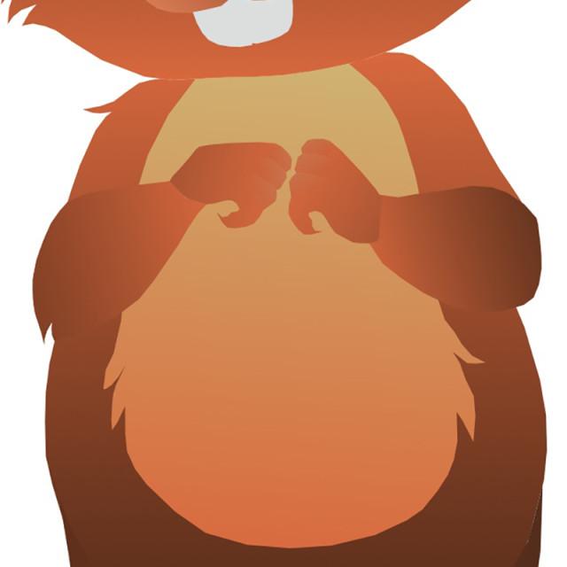 """""""Woodchuck Koolamooloo"""" stock image"""