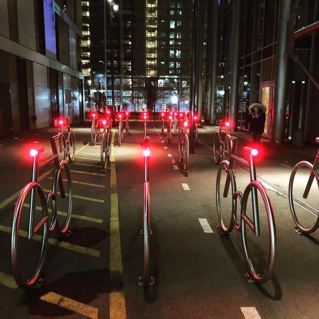 """flashy bicycles"" stock image"