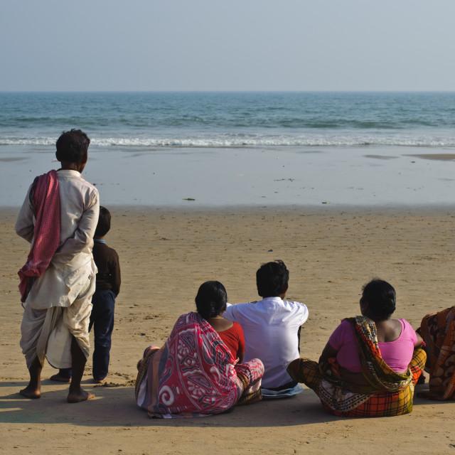"""Gulf of Bengal ( India)"" stock image"