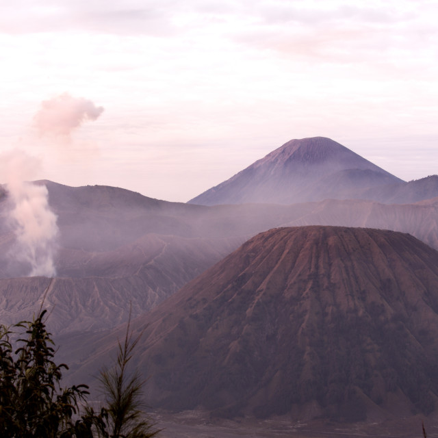"""Bromo mountain in Indonesia"" stock image"