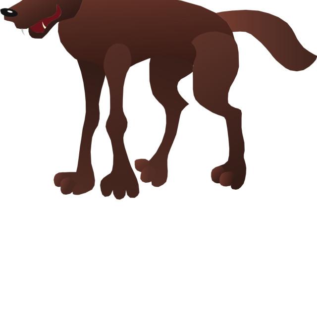 """""""Coyote Koolamooloo"""" stock image"""