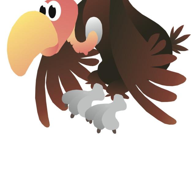 """""""Vulture Koolamooloo"""" stock image"""
