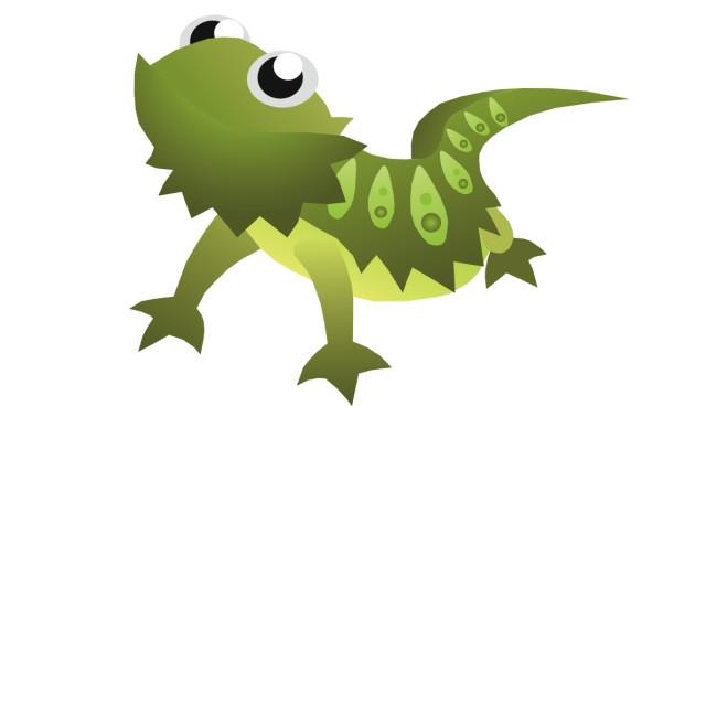 """Bearded Dragon Koolamooloo"" stock image"