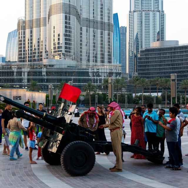"""Dubai, United Arab Emirates - May 18, 2018: Ramadan Canon and so"" stock image"
