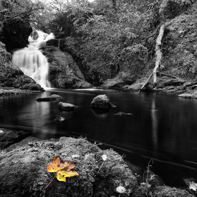 """Spectical Ee Falls Landscape"" stock image"