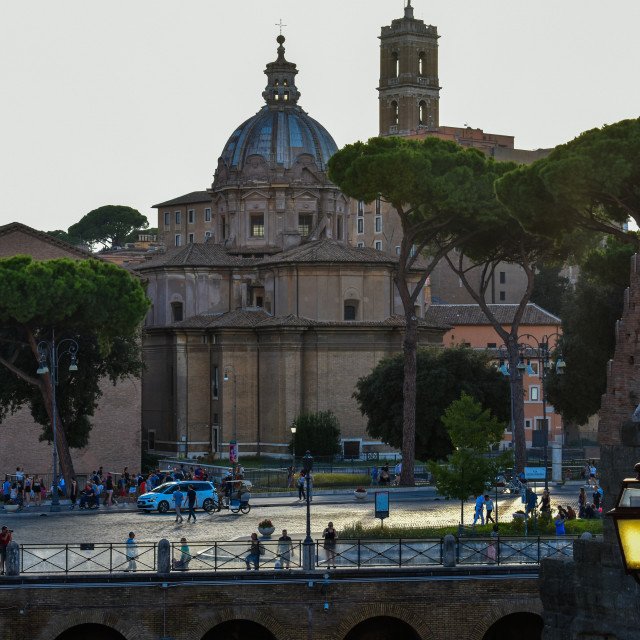 """Early Evening in Rome"" stock image"