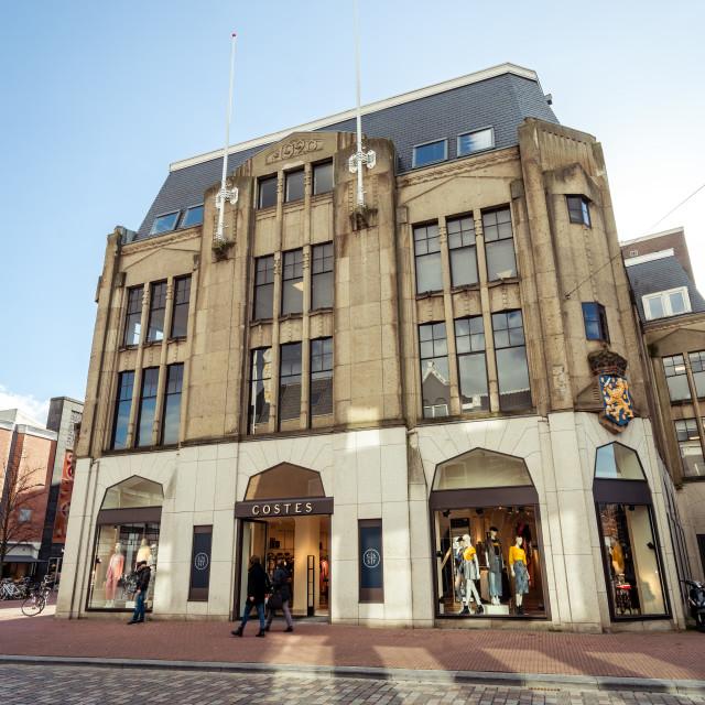 """""""Costes established in Het Linderhuis in Dordrecht"""" stock image"""