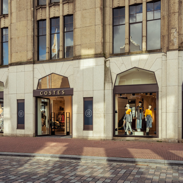 """""""Costes lifestyle clothing store in Dordrecht"""" stock image"""