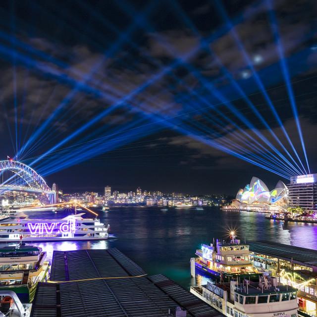 """Beautiful Sydney Harbour"" stock image"