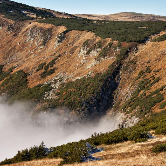 """Karkonosze Mountains Landscape"" stock image"