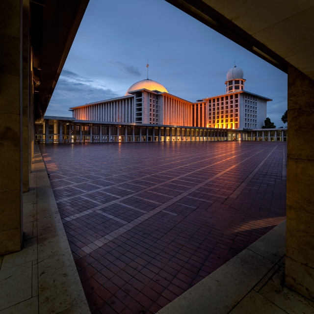 """Istiqlal Mosque"" stock image"