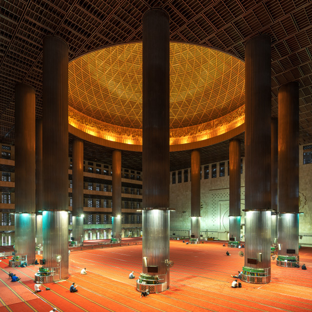 """Istiqlal Mosque 2"" stock image"
