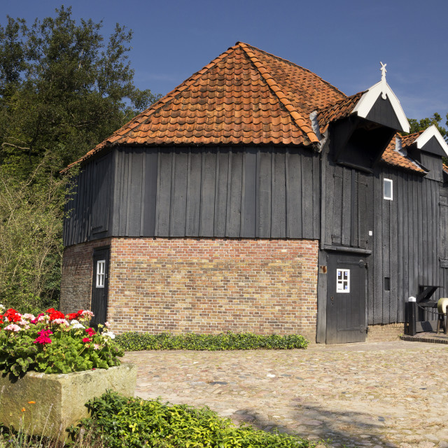 """Watermill den Haller"" stock image"