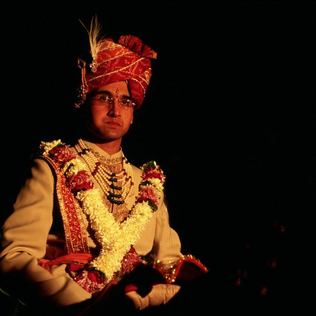 """Hindu groom ( India)"" stock image"