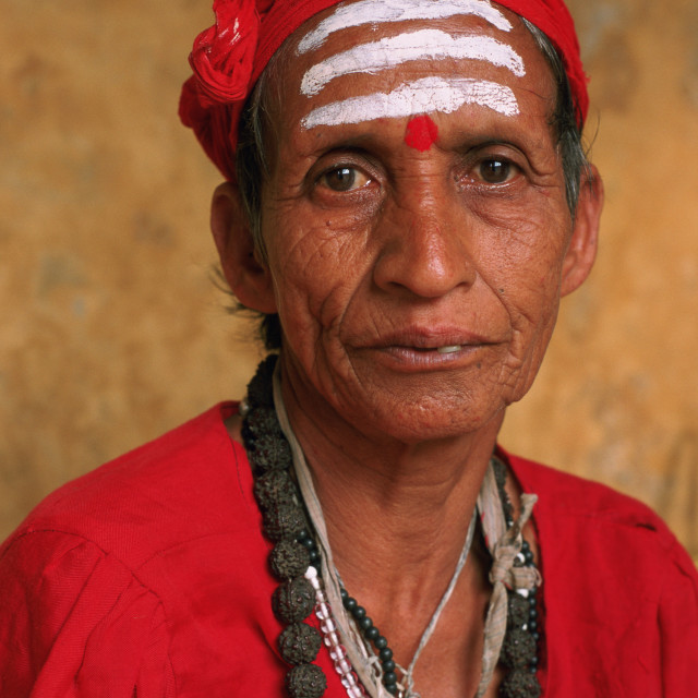 """Sadhvi ( Nepal)"" stock image"