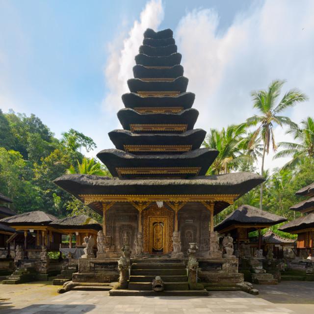 """Pura Kehen hindu temple in Bali, Indonesia"" stock image"
