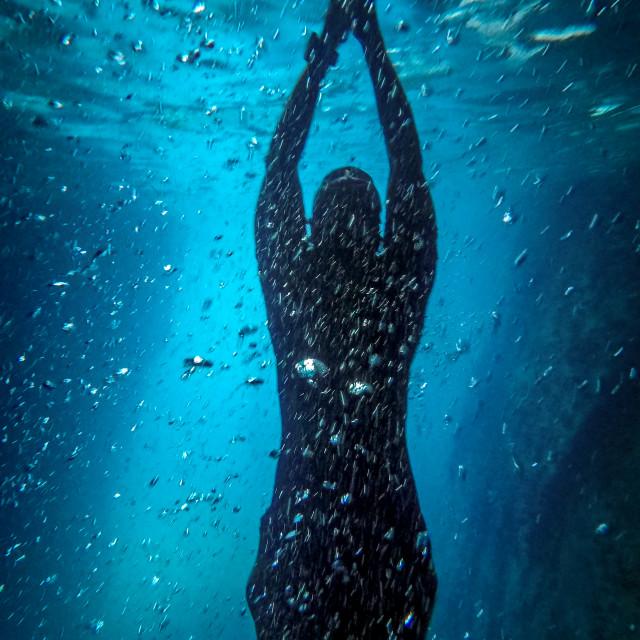 """Under sea peace"" stock image"