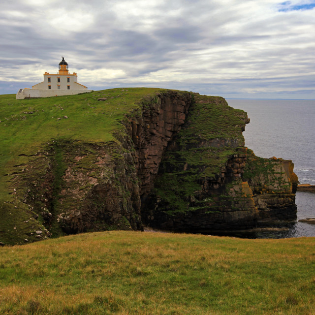 """Stoer Head Lighthouse"" stock image"