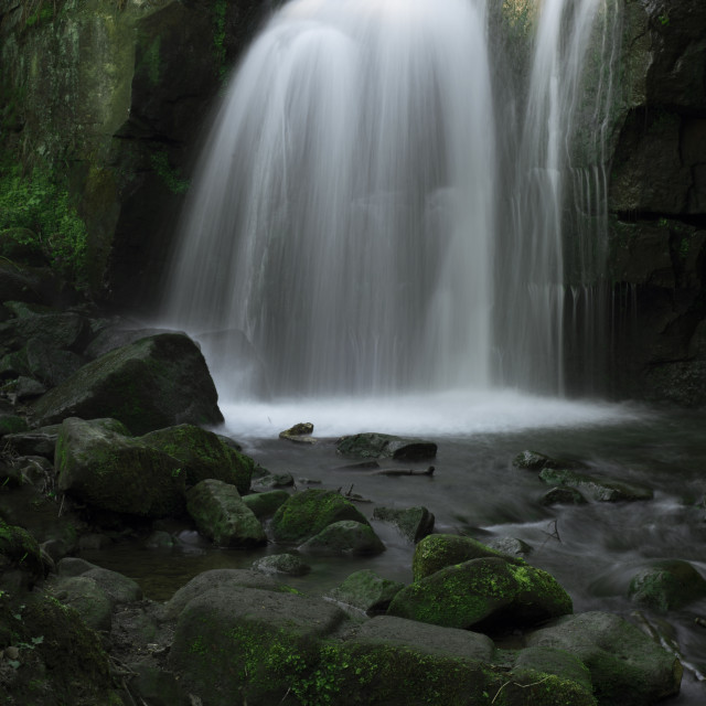 """""""The little waterfall"""" stock image"""
