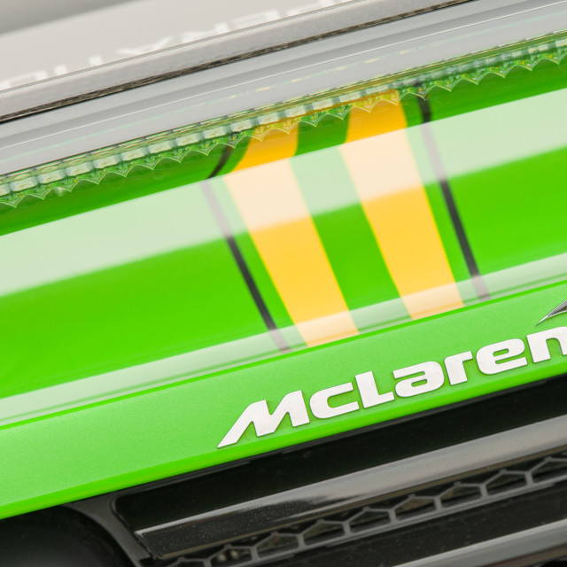 """McLaren vehicle badge"" stock image"