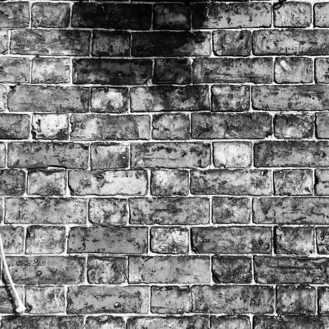 """""""Brick wall detail"""" stock image"""