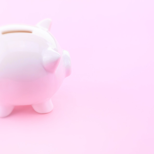 """piggy banks - money saving concept"" stock image"