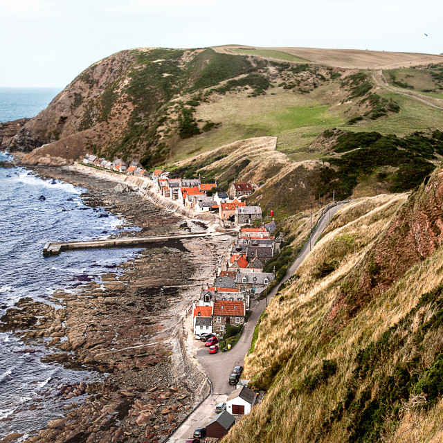 """""""A view of Crovie"""" stock image"""