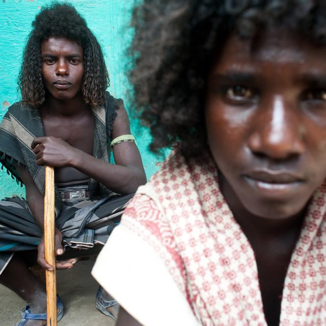"""""""Afar ( Ethiopia)"""" stock image"""