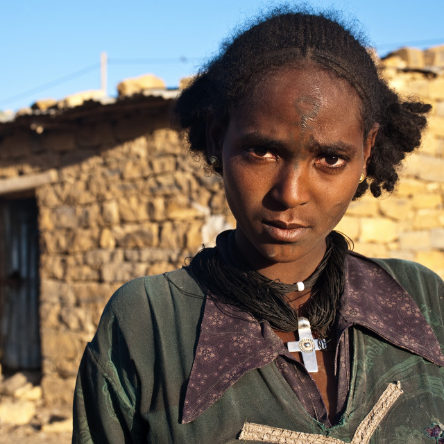 """""""Agow ( Ethiopia)"""" stock image"""