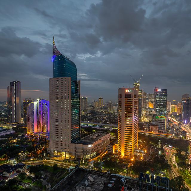 """Wisma BNI 46 Jakarta"" stock image"