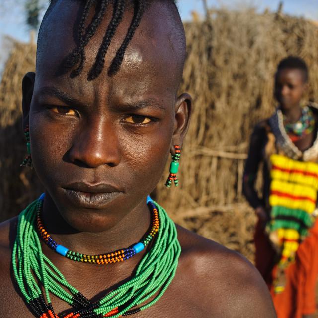"""Hamer ( Ethiopia)"" stock image"
