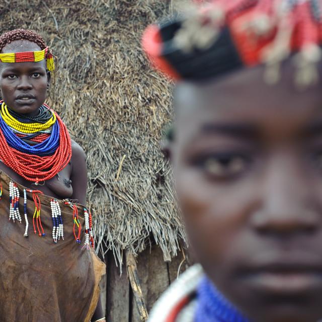 """""""Karo ( Ethiopia)"""" stock image"""
