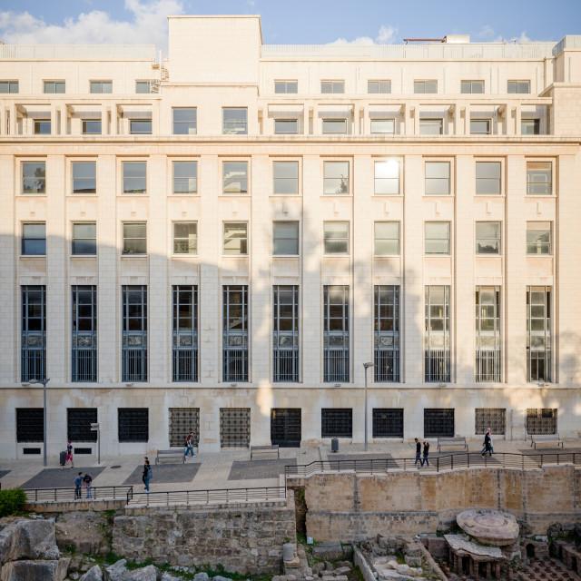 """Roman baths, Beirut, Lebanon"" stock image"
