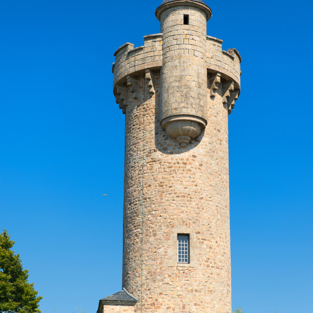 """""""French water tower"""" stock image"""
