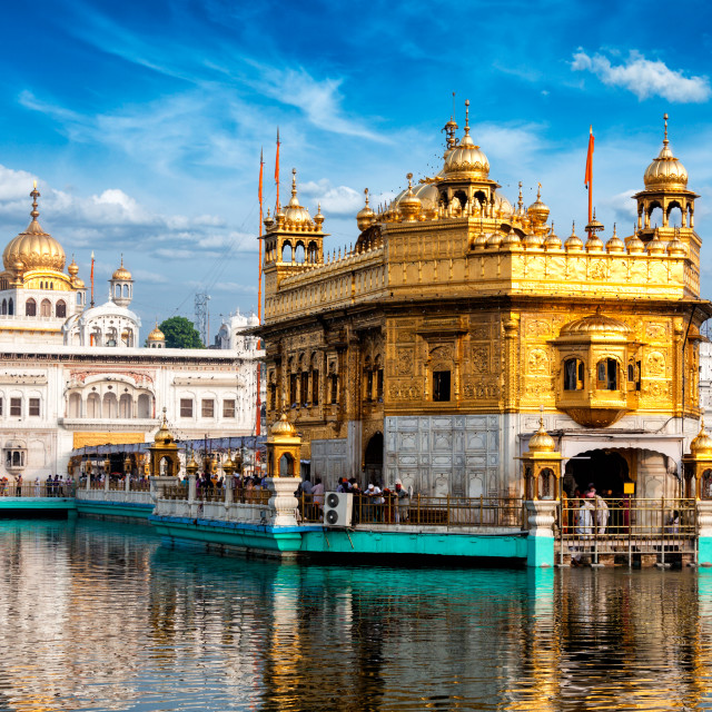 """Golden Temple, Amritsar"" stock image"