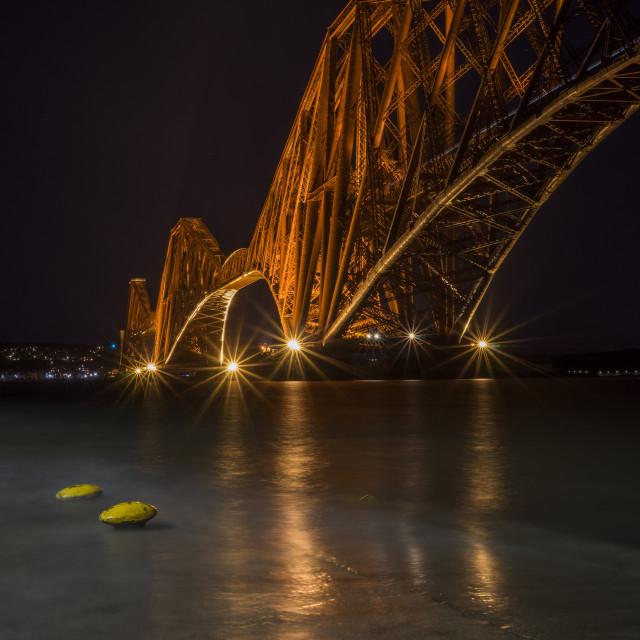 """Forth Bridge - Scotland"" stock image"