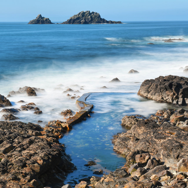 """Cape cornwall"" stock image"