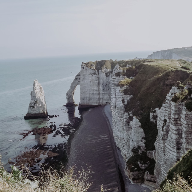 """Étretat, France"" stock image"