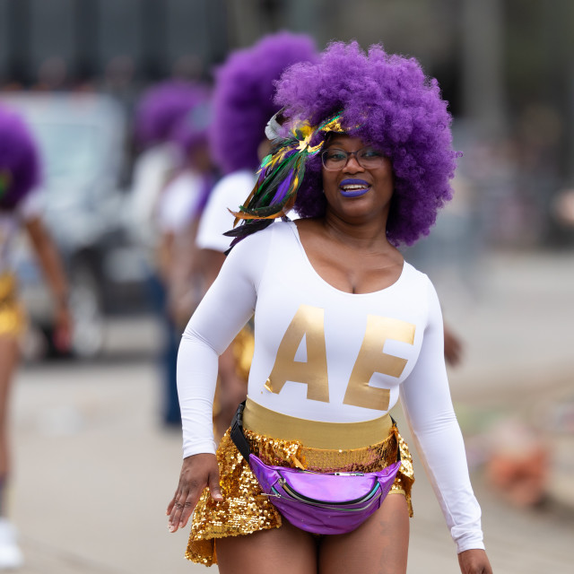 """Mardi Gras Parade New Orleans"" stock image"
